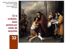 En la confesión, Jesús perdona por medio del