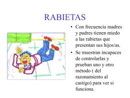 RABIETAS - El portal de la educación