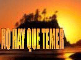 No Temer