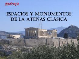 Espacio y monumentos de la Atenas clásica