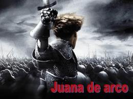 Juana de arco - Historia en 1º Bachiller