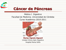 CANCER PANCREATICO