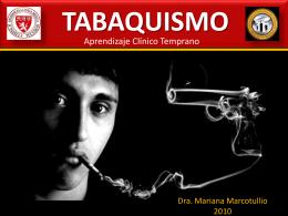 TABAQUISMO - Facultad de Medicina