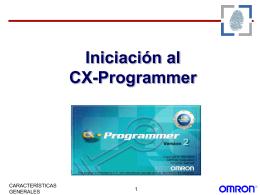 INICIACIÓN AL CX-PROGRAMER