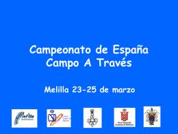 Campeonato de España Campo A través