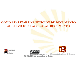 plantilla biblioteca - Universidad de Córdoba