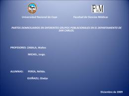 Universidad Nacional de Cuyo Facultad de Ciencias