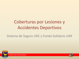 Diapositiva 1 - Unión de Rugby de Cuyo
