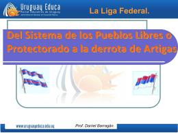 Liga Federal - Portada Principal Uruguay Educa
