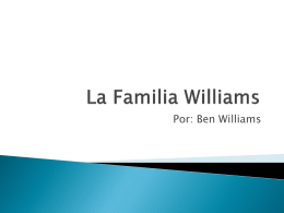 La Familia Williams