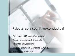 Psicoterapia Cognitivo