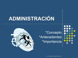 ADMINISTRACIÓN - Curso Ínter Semestral de