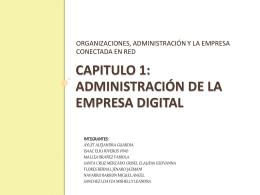ADMINISTRACIÓN DE LA EMPRESA DIGITAL