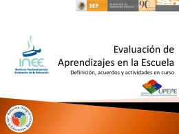 Evaluación de Aprendizajes en el Aula Propuesta