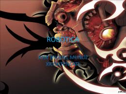ROBOTICA - FHS-FCE-002