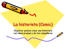 La historieta (Comic) - Universidad La Salle