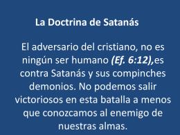 La Doctrina de Satanás