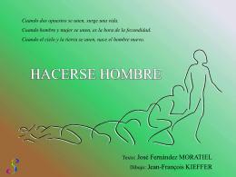 HACERSE HOMBRE - Dominicos