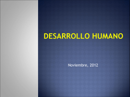 Desarrollo humano - Blogs
