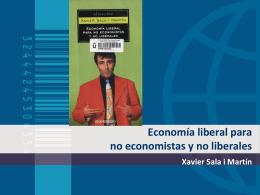 Economía liberal para no economistas y no