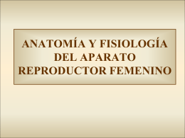 ANATOMÍA Y FISIOLOGÍA DEL APARATO REPRODUCTOR