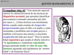 QUINTO MANDAMIENTO, 8