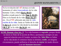 QUINTO MANDAMIENTO, 1