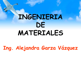 Diapositiva 1 - Ingenieria de Materiales | Just