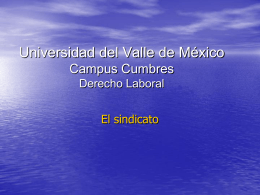 Universidad del Valle de México Campus Cumbres