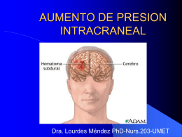 MANEJO DE PRESION INTRACRANEAL