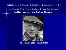 Pablo Diego José Francisco de Paula Juan