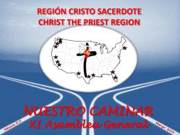 Region Cristo Sacerdote 2014