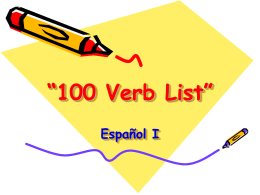 102 Verbs