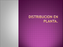 DISTRIBUCION EN PLANTA. - Prof osvaldo Weblog | Es