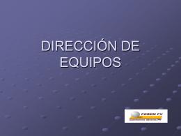 Diapositiva 1 - HABILIDADES DE DIRECCIÓN