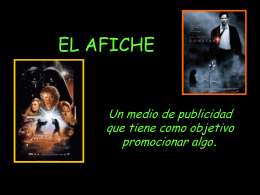 EL AFICHE - spanishsjm