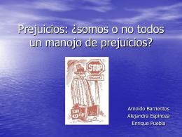 Diapositiva 1 - Humilde web sobre prejuicios