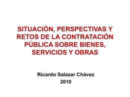 SITUACIÓN, PERSPECTIVAS Y RETOS DE LA CONTRATACIÓN
