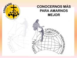 Diapositiva 1 - Catequesis Prematrimonial