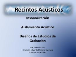 Diapositiva 1 - Apreciación Sonora