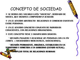 CONCEPTO DE SOCIEDAD - igetareas