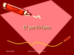 El porfirismo - COBACH PROF. ERNESTO LÓPEZ RIESGO
