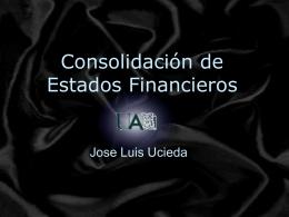 Consolidación de Estados Financieros