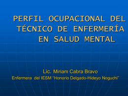 ACTIVIDADES DEL TÉCNICO DE ENFERMERÍA EN SALUD