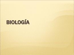 BIOLOGÍA - El Postulante | o tambien conocida como
