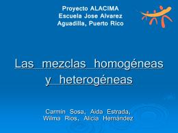 Las Mezclas Homogeneas y Heterogeneas