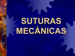 SUTURAS Y AUTOSUTURAS - Medicinainformatica911`s