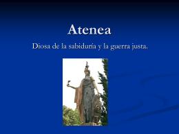 Atenea - CULTURACLASICA