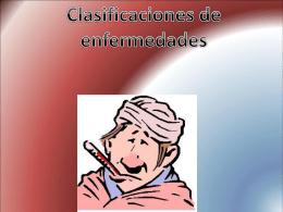 Clasificaciones de enfermedades