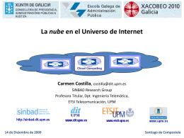 La nube en el Universo de Internet